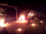 Шоу огня в Вурнарах